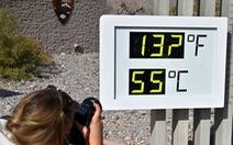 Mùa hè ở Mỹ có nhiệt độ kỷ lục đến 55 độ C