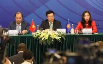 ARF đề cao luật pháp ở Biển Đông