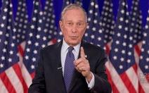 Tỉ phú Bloomberg hứa tặng ít nhất 100 triệu USD giúp chiến dịch của ông Biden 'lên hương'