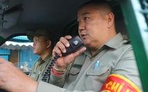 Gặp bảo vệ tổ dân phố tự chế máy cứu hỏa 'chuyên trị' ở các hẻm nhỏ