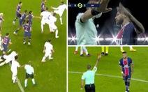 'Sốc': Đánh nhau phút 90+6, trọng tài rút 5 thẻ đỏ và Neymar bị đuổi vì đánh nguội