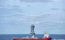 Trung Quốc phóng 9 vệ tinh viễn thám từ bệ phóng trên biển