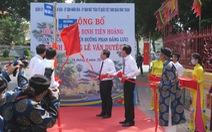Đổi lại tên đường Lê Văn Duyệt nhân lễ giỗ lần thứ 188 của đức Tả quân