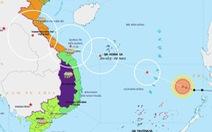 Bão Noul đã vào Biển Đông thành bão số 5, đang mạnh thêm