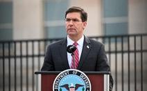 Bộ trưởng Quốc phòng Mỹ: Trung Quốc không có cửa sánh với hải quân Mỹ