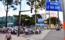Đổi giấy tờ cho dân trên đường Lê Văn Duyệt ra sao?