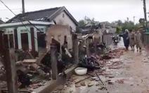 Bão số 5: Bão áp sát bờ, ghi nhận thiệt hại ban đầu ở Thừa Thiên Huế