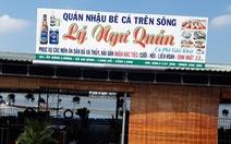 Tai nạn đường thủy 2 người chết: Quán nhậu không phép, ca nô không đăng ký