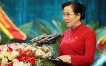 Bà Lê Thị Thủy tái giữ chức bí thư Tỉnh ủy Hà Nam