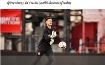Thủ môn Văn Lâm được chọn vào đội hình tiêu biểu của Thai League