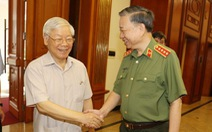 Tổng bí thư, Chủ tịch nước: 'Để nhân dân ủng hộ, lực lượng công an phải nỗ lực, xứng đáng'