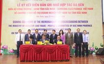 Samsung hợp tác phát triển thêm nhiều nhà cung ứng tại Bắc Ninh
