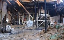 Cháy nhà máy xay lúa, ước thiệt hại khoảng 10 tỉ đồng
