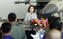 Bà Thái Anh Văn ca ngợi phi công Đài Loan 'anh dũng' chặn chiến đấu cơ Trung Quốc