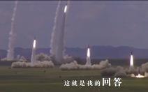 Quân đội Trung Quốc đăng video: 'Nếu chiến tranh nổ ra hôm nay, đây là câu trả lời'