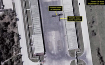 Ảnh vệ tinh phát hiện xe chở tên lửa đạn đạo cỡ lớn ở Triều Tiên