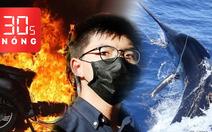 Bản tin 30s Nóng: Xe đạp điện phát nổ; Joshua Wong bị bắt; Săn cá cờ xanh nặng kỷ lục thế giới