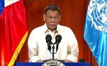 Ông Duterte 'bỏ bom' tại Liên Hiệp Quốc