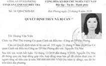 Truy nã nữ giám đốc 'ôm' 300 tỉ đồng bỏ trốn