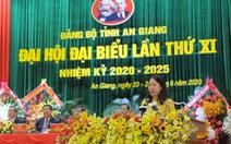 Bà Võ Thị Ánh Xuân tái đắc cử Bí thư Tỉnh ủy An Giang