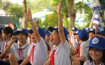 Trang bị sân chơi vận động, góc dinh dưỡng cho học sinh tiểu học