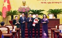 Thủ tướng phê chuẩn kết quả bầu chủ tịch UBND thành phố Hà Nội Chu Ngọc Anh