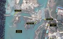 Ảnh vệ tinh: Vỡ đập gần khu hạt nhân Triều Tiên