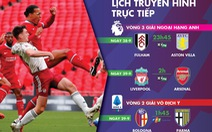 Lịch trực tiếp bóng đá châu Âu: Liverpool - Arsenal