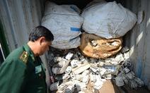 Loay hoay trả lại 600 container phế liệu độc hại vì chủ hàng đã bỏ chạy