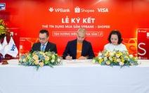 Tận hưởng niềm vui mua sắm với 'Thẻ tín dụng VPBank  Shopee'