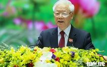 Tổng bí thư, Chủ tịch nước Nguyễn Phú Trọng: Bộ Quốc phòng cần chuẩn bị thêm một số chiến lược mới