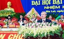 Thường trực Ban Bí thư Trần Quốc Vượng dự đại hội Đảng bộ tỉnh Gia Lai