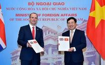 Việt Nam, Anh khẳng định UNCLOS 1982 là khung pháp lý cho mọi hoạt động trên biển