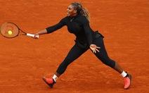Serena Williams chia tay Roland Garros do chấn thương gót chân