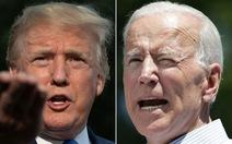 Trump - Biden bước vào tranh luận trực tiếp