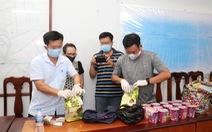 Nghi chuyển ma túy đá từ Campuchia về Việt Nam trong thùng hủ tiếu ăn liền