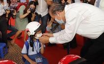 Phó thủ tướng Trương Hòa Bình dự lễ khai giảng năm học mới sáng 6-9