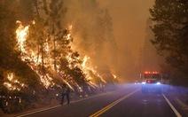 Tất cả rừng quốc gia ở California đã đóng cửa vì cháy