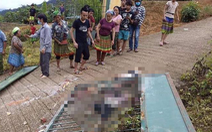 Cổng trường học đổ sập đè chết 3 học sinh