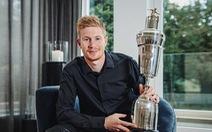 De Bruyne hoàn tất cú đúp danh hiệu Cầu thủ xuất sắc nhất mùa giải 2019-2020