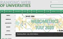 Cập nhật bảng xếp hạng Webometrics cho các đại học Việt Nam