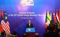 Thủ tướng Nguyễn Xuân Phúc kêu gọi thượng tôn pháp luật ở Biển Đông
