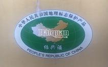 Rượu Trung Quốc cũng có hình ảnh vi phạm chủ quyền của Việt Nam