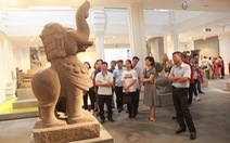 Hai cổ vật điêu khắc Chăm được công nhận bảo vật quốc gia