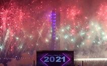 Chiêm ngưỡng pháo hoa từ đông sang tây thế giới tiễn một năm ảm đạm