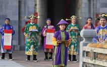 Tái hiện lễ  phát lịch của triều Nguyễn lần đầu tiên sau 180 năm