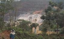Đường ống dẫn nước vào thủy điện A Lưới bị vỡ, người dân lo lắng