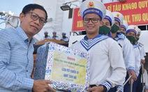 Bốn tàu hải quân chở quà tết ra Trường Sa