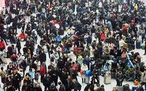 Trung Quốc khuyên dân ở đâu yên đó trong đợt 'xuân vận' sắp đến