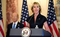 Đài Loan thông báo đại sứ Mỹ tại Liên Hiệp Quốc gặp bà Thái Anh Văn tuần này